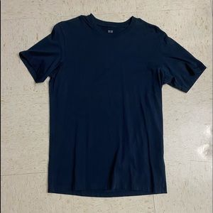 Navy Blue Shirt Men's Small Uniqlo